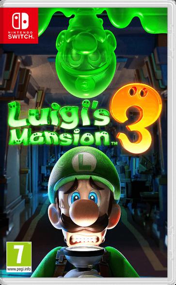 בלעדי ל-Nintendo Switch משחק  Luigi's Mansion 3, , large image number null