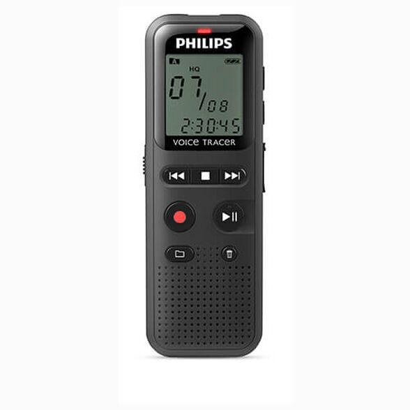טייפ מנהלים רשמקול דיגיטלי 4GB קומפקטי ונוח Philips DVT1150 , , large image number null