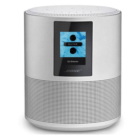 רמקול חכם עם איכות סאונד יוצאת דופן , תומך ב WIFI , Bluetooth  ו - תמיכה ב Alexa Amazon   מבית BOSE דגם HomeSpeaker 500 _כסוף, , large image number null