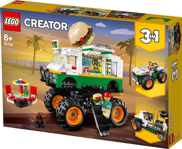 LEGO לגו  קריאטור - משאית בורגר   דגם 31104, , large image number null