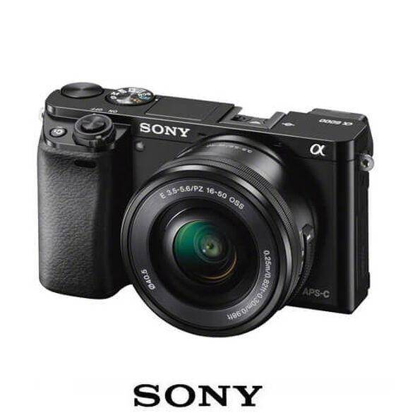 מצלמת סטילס דיגיטלית Sony Alpha 6000 SONY דגם ILC-E6000 מסדרת אלפה | 24.3 מגה פיקסל | תקשורת WiFi | צילום תמונות באיכות 4K , , large image number null