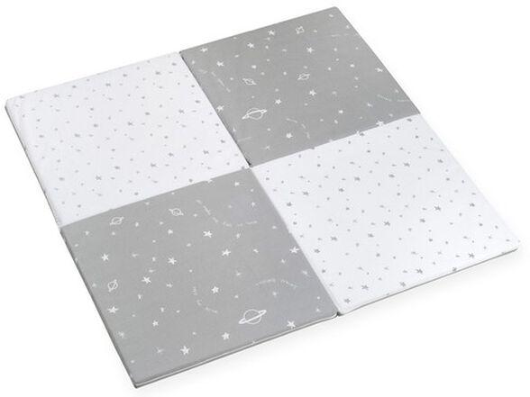 משטח פעילות מתקפל 4 חלקים 100% כותנה טריקו - גלקסיה אפור, , large image number null