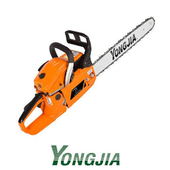 """מסור שרשרת מנועי איכותי תוצרת YONGJIA נפח מנוע של 45 סמ""""ק 8,500 סל""""ד, , large image number null"""