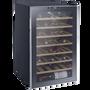 """מקרר יין מפואר 45 בקבוקים מדפי עץ פועל ע""""י מדחס איכותי ושקט מבית LANDERS דגם JC128W"""
