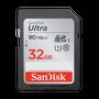כרטיס זיכרון SANDISK ULTRA® SDHC™/SDXC™ UHS-I MEMORY CARD 32GB