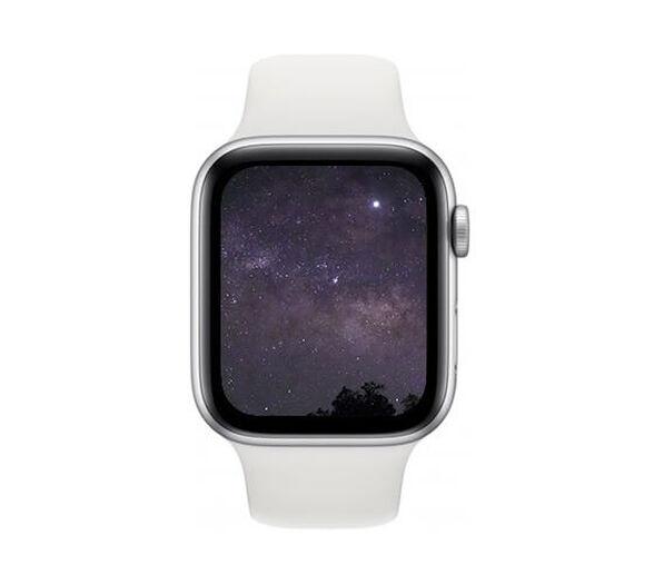 שעון חכם Apple SE – סידרה החדשה 2020 Apple Watch SE GPS, 40mm Silver Aluminum Case with White Sport Band , , large image number null