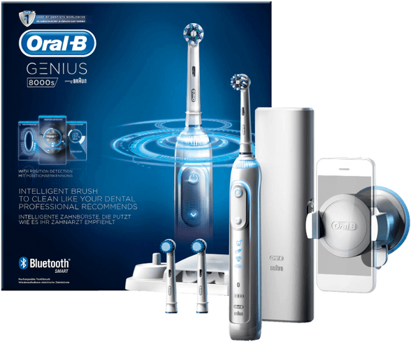 מברשת שיניים חשמלית נטענת ג'יניוס פרו 8000 D701, , large image number null