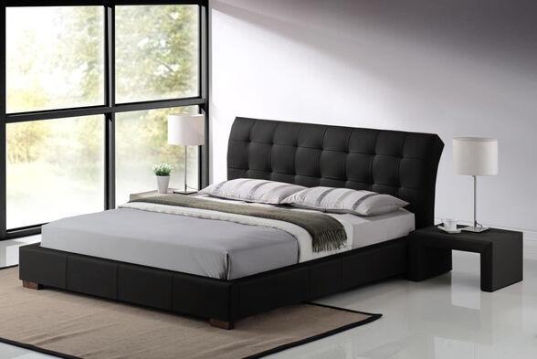 מיטה וחצי מרופדת מבית GAROX דגם LUCIANO, , large image number null