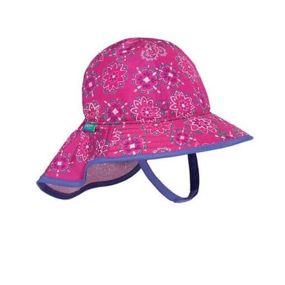 כובע לתינוקות  Infant Sunsprout בעל הגנה מקסימלית מפני השמש מבית SUNDAY AFTERNOONS_צבע ורוד-0-6 חודשים, , large image number null