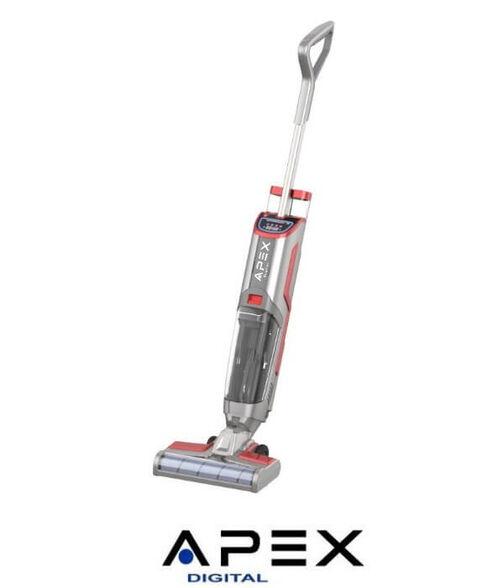 שואב אבק ושוטף רצפות אלחוטי עם לפעולה רציפה של כ-30 דקות מבית :  APEX דגם APV-60  , , large image number null