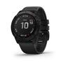 שעון דופק מולטי ספורט מבית גרמין! GARMIN fenix 6X,Pro,Black w/Black Band ,GPS | ! 2019 | דגמי 2019 | יבואן רשמי