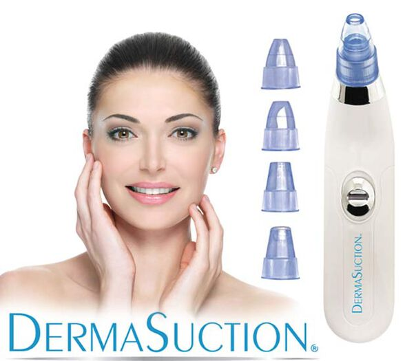 DERMA SUCTION דרמה סקשן מכשיר לניקוי עור הפנים ביעילות ובקלות מסיר פצעונים לכלוך שומן ועוד, , large image number null