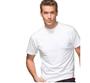 מארז שש חולצות טישירט יוניסקס עם צווארון עגול בצבע לבן מבית HANES