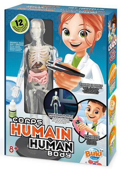 ערכת מדע 12 ניסויים - גוף האדם (זוהר בחושך), , large image number null