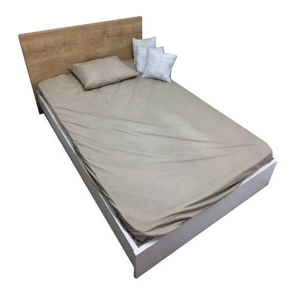 מיטה ברוחב וחצי מעוצבת מתאימה למזרן 120*190 | מזרן ספוג מולבש ציפה כחולה | צבע ראש מיטה ומסגרת במגוון צבעים לבחירה, , large image number null