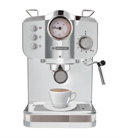 BT-5013 מכונת קפה ביתית מקצועית 15Bar + מד לחץ ומקציף | עוצמתי במיוחד 1100W , , large image number null