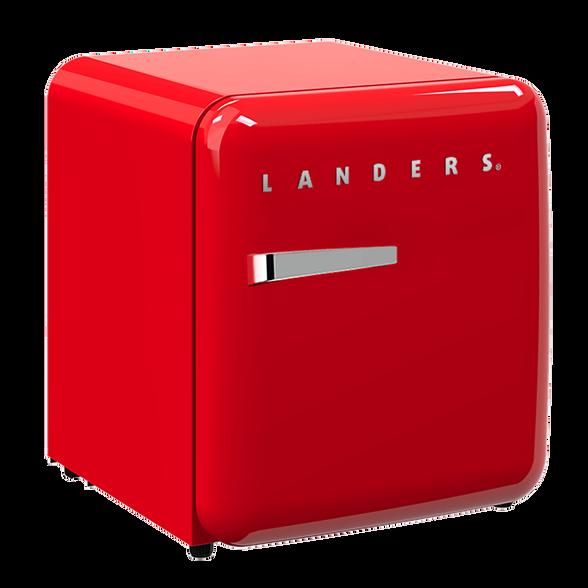מקרר רטרו 46 ליטר פריט עיצובי המשדרג את נראות חלל הבית/המשרד שלכם  מבית LANDERS דגם LA46R , , large image number null