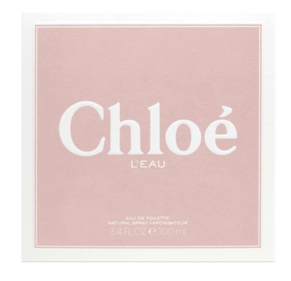 """בושם לאשה קלואה לאו א.ד.ט 100 מ""""ל Chloe LEau, , large image number null"""