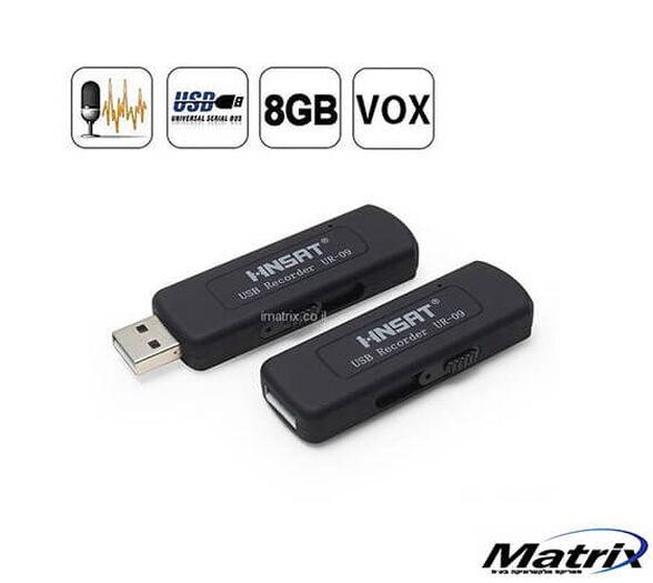 טייפ מנהלים / מקליט קול בזיכרון נייד 8GB כולל הפעלה קולית  -  להקלטה רצופה של עד 15 שעות בהטענה אחת , , large image number null