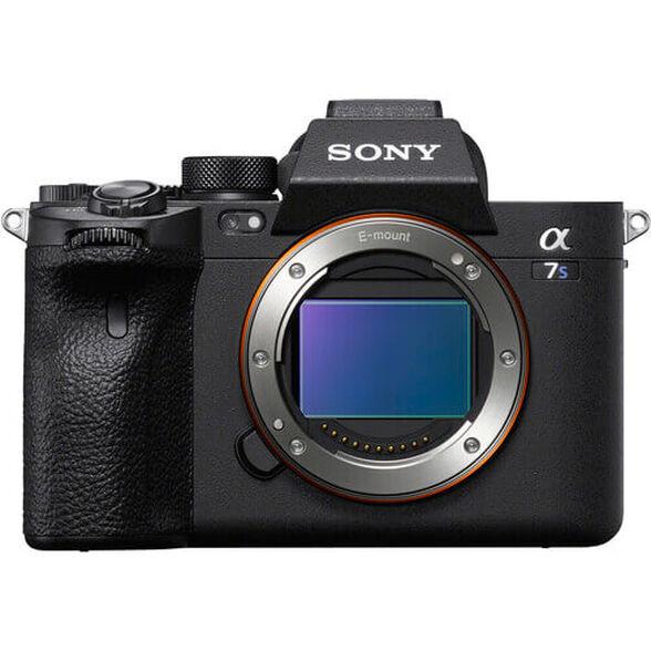 מצלמת סטילסFull Frame 35mm  מסדרת אלפהMirrorless  (גוף בלבד) מבית SONY דגם ILC-E7SM3B , , large image number null