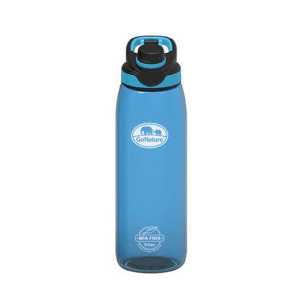 """בקבוק אקולוגי 850 סמ""""ק עשויTritan USA  מתנקה בקלות ואטום לחלוטין מבית GO NATURE_צבע כחול, , large image number null"""