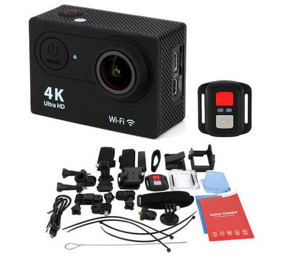 מצלמת  אקסטרים וידאו  4k משולבת לפעילויות אקסטרים  צלילה עד 30 מטר ספורט ופנאי צג ענק צבעוני +  שלט רחוק יציאת  HDMI  + צילום סטילס   כולל אביזרים , , large image number null