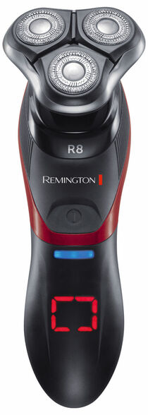 מכונת גילוח רוטורית עם ראשים מסתובבים + מכונת תספורת בעל טכנולוגיית HyperFlex - ציר גמיש המבטיח התאמה מרבית לקוי המתאר של הפנים והצוואר , , large image number null
