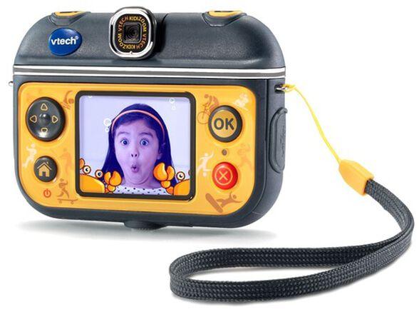 מצלמת וידיאו אקשן לילדים Kidizoom Action Cam 180 עם עדשה מתהפכת - צהוב, , large image number null