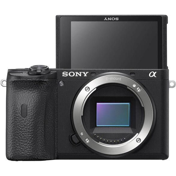 מצלמת מירורלס (ללא מראה) גוף בלבד 24.2 מגה פיקסל , מעבד תמונה Bionz X , זום דיגיטלי וידיאו X4 מבית SONY דגם ILC-E6600B , , large image number null