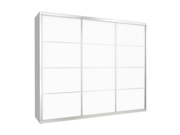 ארון הזזה 3 דלתות דגם TC דלתות מלמין במבחר צבעים ניתן לשדרג לרוחב עד 300 ס''מ, , large image number null