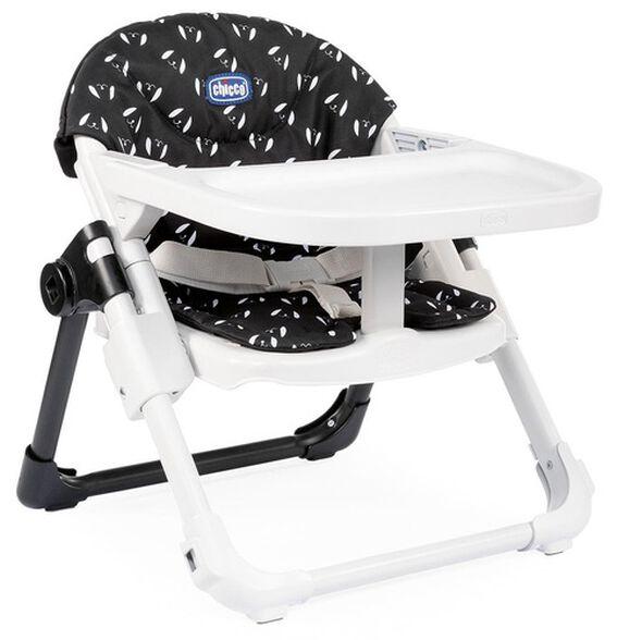 מושב הגבהה לתינוק 2 ב 1 צ'רי Chairy מתקפל עם מגש וריפוד - שחור Sweetdog, , large image number null