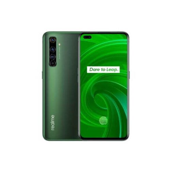 """סמארטפון מבית realme דגם X50 pro 5G עם מעבד Snapdragon 865 5G נפח אחסון 256GB ו-12GB RAM, מסך """"6.44 AMOLED מהיר 90hz , מערך של ארבע מצלמות אחוריות 64MP וטעינת SuperDart בהספק 65W _ירוק, , large image number null"""