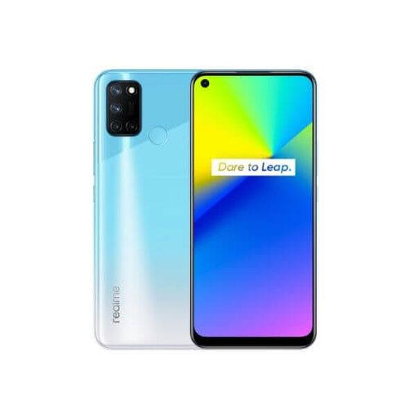 """סמארטפון מבית realme עם מעבד Snapdragon 662, נפח אחסון 128GB ו-8GB RAM, מסך """"6.5 Ultra Smooth Display, מערך של ארבע מצלמות אחוריות 64MP והטענת 18W Quick Charge _כחול, , large image number null"""