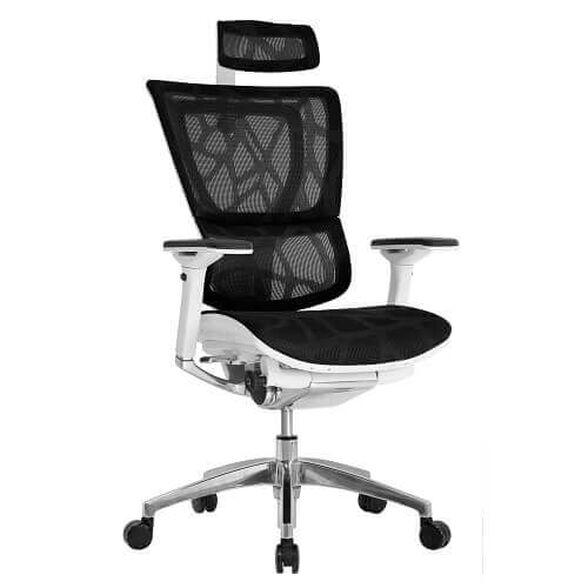 כסא עבודה ארגונומי ואורטופדי עם מערכת תמיכה תלת מימדית אוטומטית דגם MIRUS PLUS_שחור, , large image number null