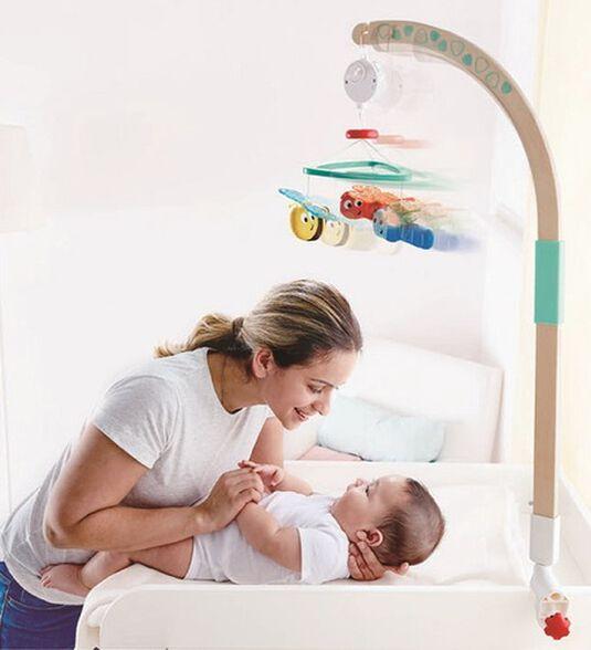 מובייל 'חלומות מתוקים' עם חיבור למיטת תינוק או שידה, , large image number null