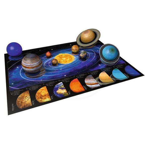 פאזל תלת מימד 3D מודל מערכת השמש מבית חברת Ravensburger העולמית, , large image number null