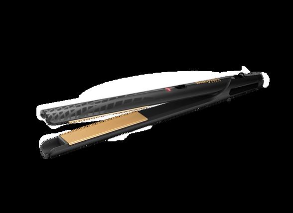 מחליק שיער קרמי מוזהב - ST410E מעולה לשיער קצר או דק, הגנה על השיער, טמפרטורה אחידה  , , large image number null