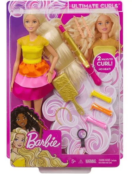 BARBIE בובת ברבי עיצוב שיער דגם GBK24 | מחיר מטורף!, , large image number null