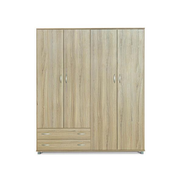 ארון 4 דלתות 2 מגירות בעיצוב קלאסי ומודרני בצבעים לבחירה דגם ארבל מבית רהיטי יראון תוצרת ישראל_אלון, , large image number null