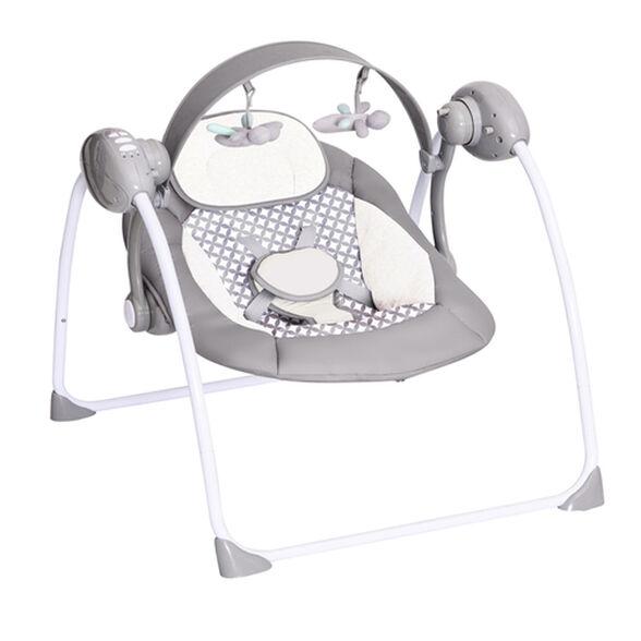 נדנדה חשמלית מתקפלת לתינוק מופעלת ע''י סוללות או USB דגם TY-008, , large image number null