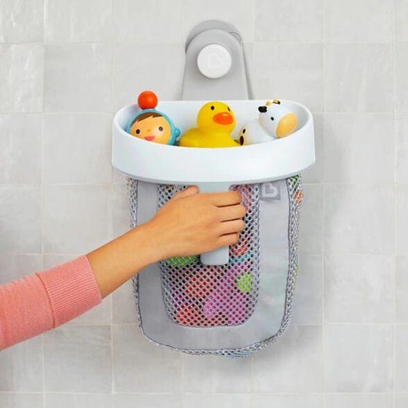 סל צעצועים לאמבטיה Super Scoop עם מתלה, , large image number null