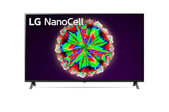 """טלויזיה חכמה 65"""" Smart TV ברזולוציית 4K Ultra HD בטכנולוגיית Nano Cell , כולל דפדפן אינטרנט פתוח מובנה ו - WIFI מובנה מבית LG דגם 65NANO80  , , large image number null"""