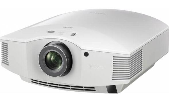 מקרן קולנוע ביתי תלת מימד Full HD 3D  מסדרת ES המפוארת , בעל 9 מצבי תמונה ועדשה איכותית עם זום 1.6X מבית SONY דגם VPL-HW40ES _לבן, , large image number null