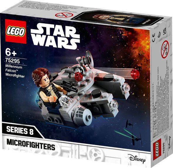 LEGO לגו מלחמת הכוכבים - מילניום פאלקון מיקרופייטר 75295, , large image number null