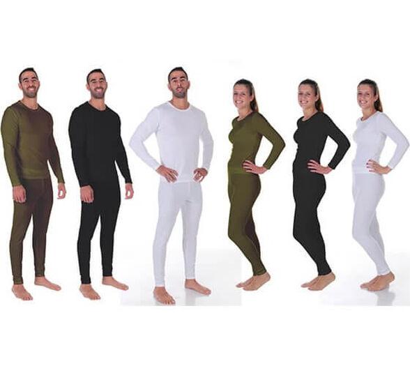 חליפה תרמית מקצועית level 2 כוללת חולצה ומכנס מיקרו פליז מחממת מבית OUTLAND | גיזרה מיוחדת לנשים / גברים | צבעים ומידות לבחירה | משלוח חינם, , large image number null