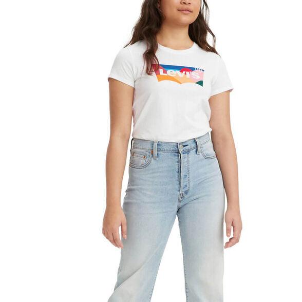 חולצת טישרט קצרה ליוויס The Perfect Tee נשים, , large image number null