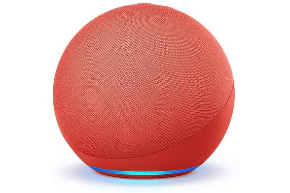 הרמקול החדש והחכם של אמזון - Amazon Echo 4 _אדום, , large image number null