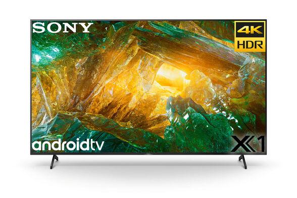 """טלויזיה 49"""" Smart 4K עם מערכת הפעלה Android TV 9.0 שידורי עידן פלוס ו - WIFI מובנה מבית SONY דגם KD-49XH8096BAEP  מתקן קיר והתקנה מתנה, , large image number null"""