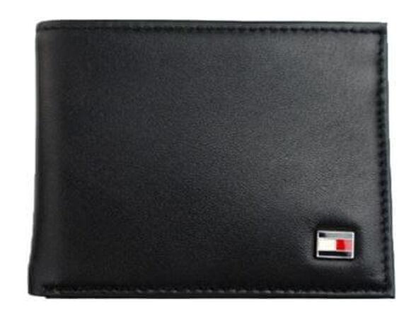 ארנק עור דק לגבר Tommy Hilfiger בצבע שחור | מגיע במארז מהודר ומקורי של Tommy Hilfiger, , large image number null