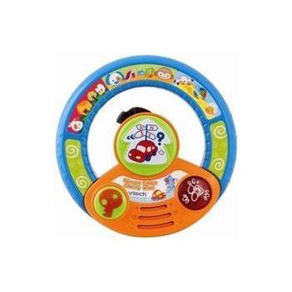 גלגל נהיגה - צעצוע התפתחות לעגלה מבית VTECH, , large image number null